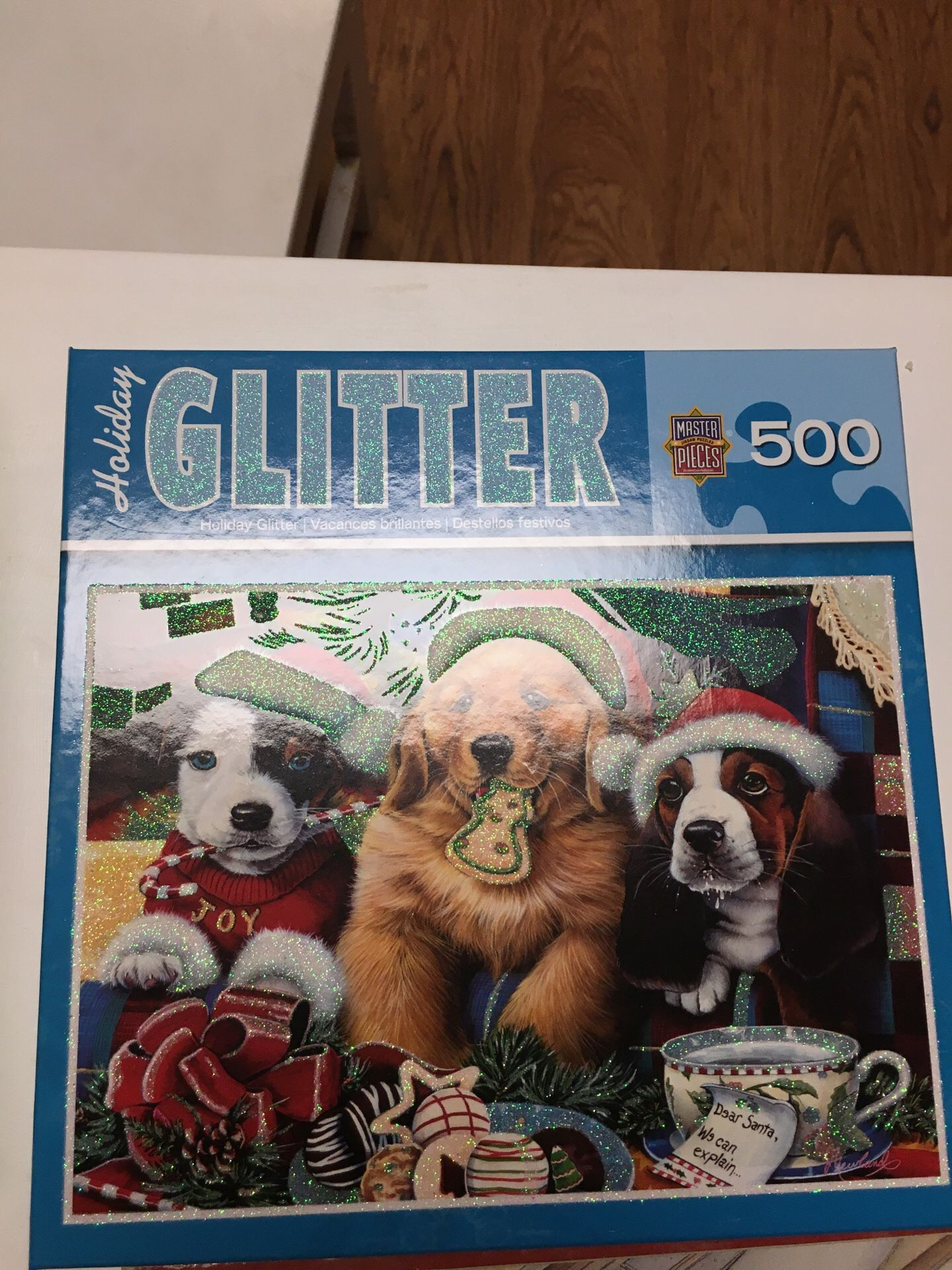 Jig saw puzzles Six puzzles, 500 pieces to 1000 pieces