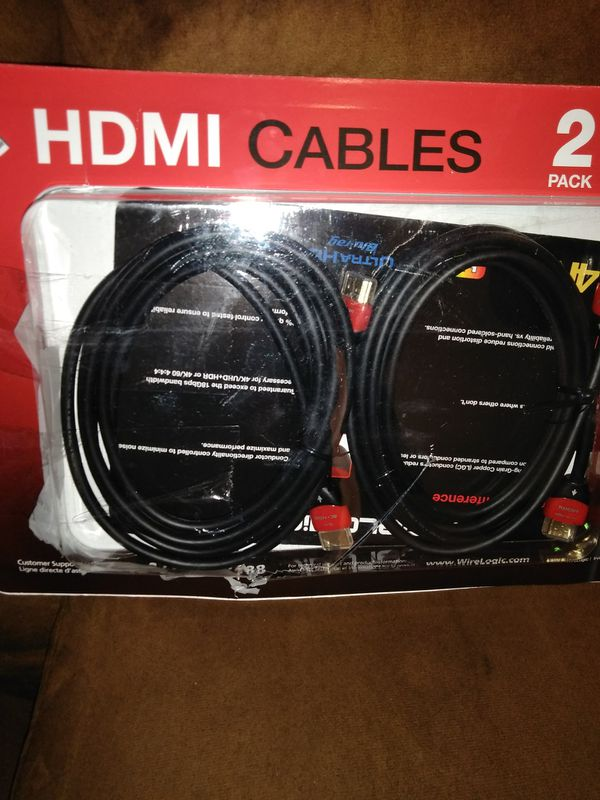 Wire logic Ruby 8\' HDMI cable (Video Equipment) in Tallahassee, FL ...