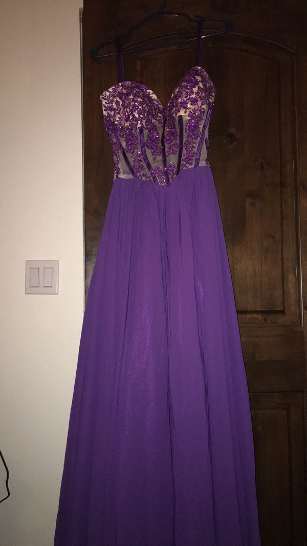 Royal purple gown (Clothing & Shoes) in Phoenix, AZ - OfferUp