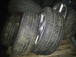 4 cadillac escalade rims and tires 265 70 17 for Sale in St. Louis, MO