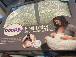 Boppy pillow best latch breastfeeding pillow for Sale in San Francisco, CA