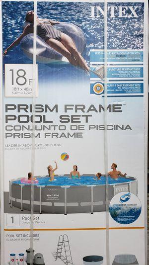 Photo Intex Pool 18'X48