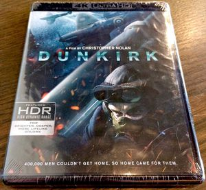 Dunkirk (4K HDR + Blu-ray + Digital) BRAND NEW for Sale in San Diego, CA