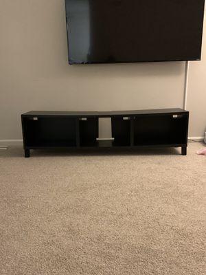 Photo IKEA malm tv stand brown/black