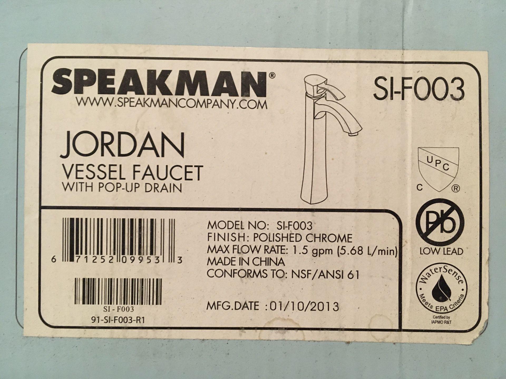 Speakman designer faucet