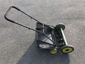Reel mower with bag for Sale in Paeonian Springs, VA