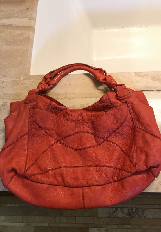 Light Red Leather Handbag Lucky Penny Brand Jewelry Accessories In Denver Co Offerup