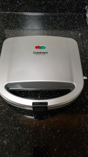Cuisinart sandwich grill for Sale in Gaithersburg, MD
