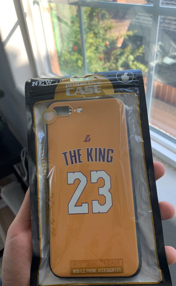 4c11ad42e95c Lebron james Lakers jersey iPhone case 7 8 plus for Sale in Anaheim ...