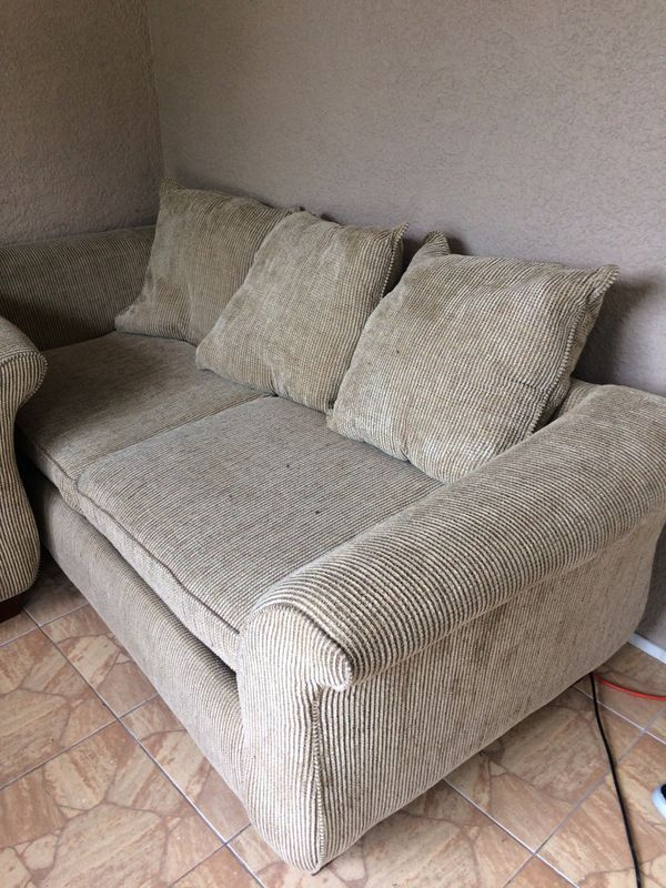 Great Sofa and Loveseat very comfortable just had ...