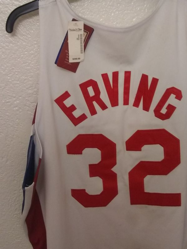 Julius erving  32 new York nets jersey for Sale in San Jose cc9187ab7