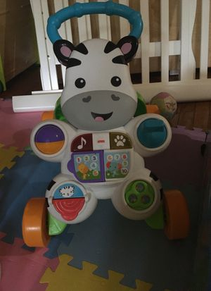 Baby walker toy zebra for Sale in Reston, VA