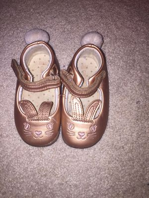 Carters Walking Bunny shoes size 4 toddler for Sale in Falls Church, VA