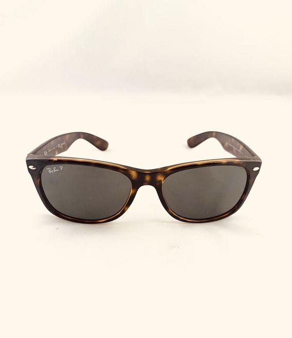 740b6639d1 Ray-Ban Polarized Tortoise Shell Sunglasses RB 2132 902 58 58-18 145 ...