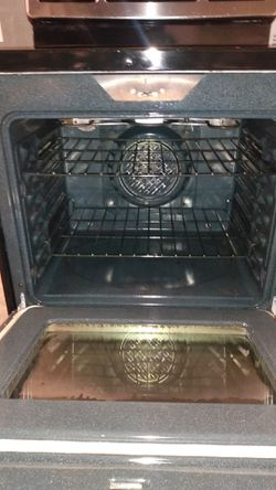GE stainless steel convection oven Electric stove Thumbnail