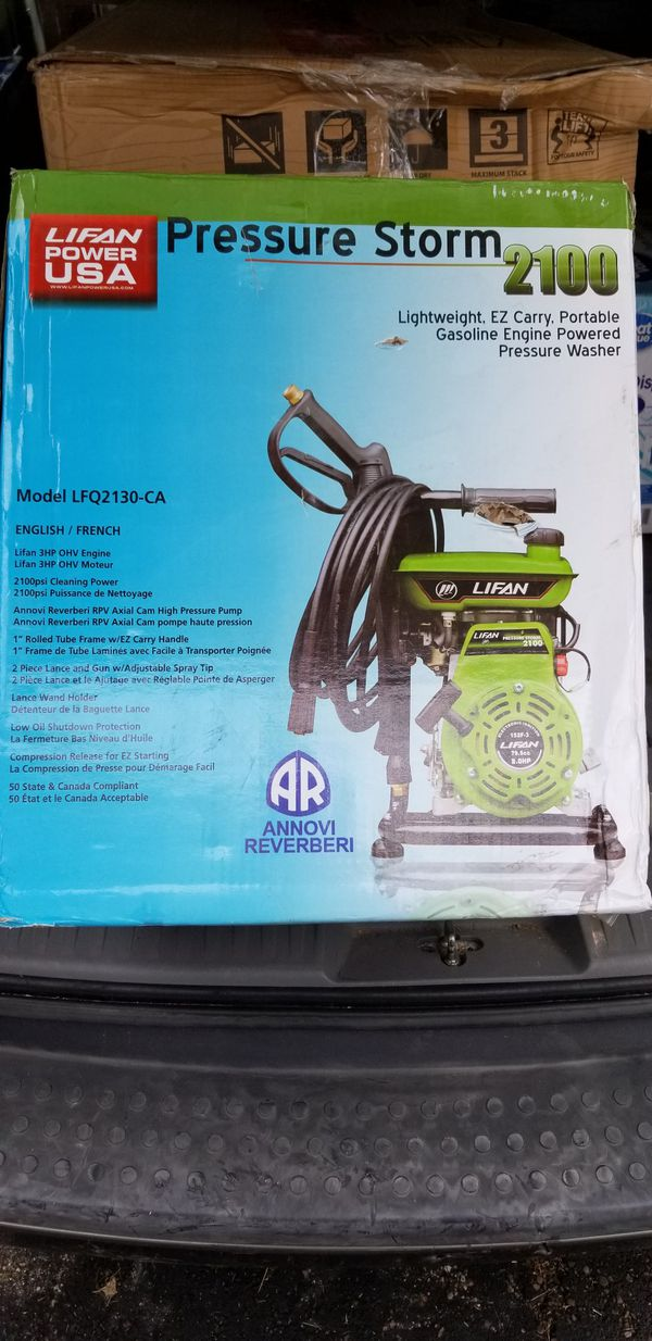 Pressure storm 2100 gasoline pressure washer for Sale in Dayton, OH