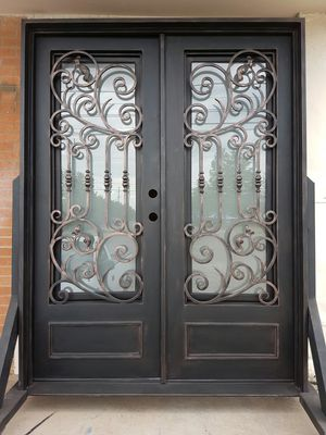 Wrought Iron Entry Double Doors For Sale In Dallas Tx Offerup