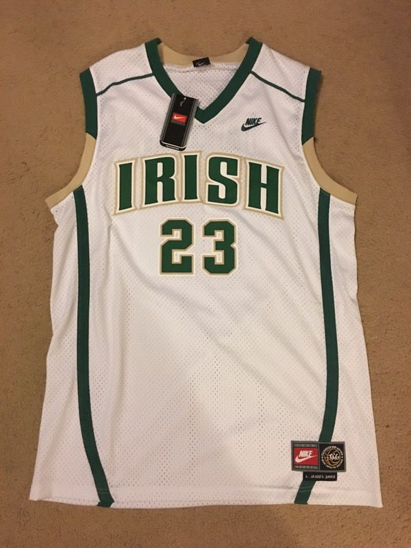 Nike LeBron James Irish Jersey XL for Sale in Hayward d75fed5d04be
