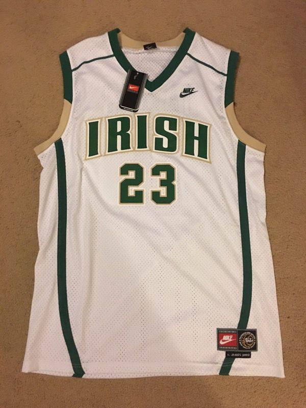 4f517d86893e Nike LeBron James Irish Jersey XL for Sale in Hayward