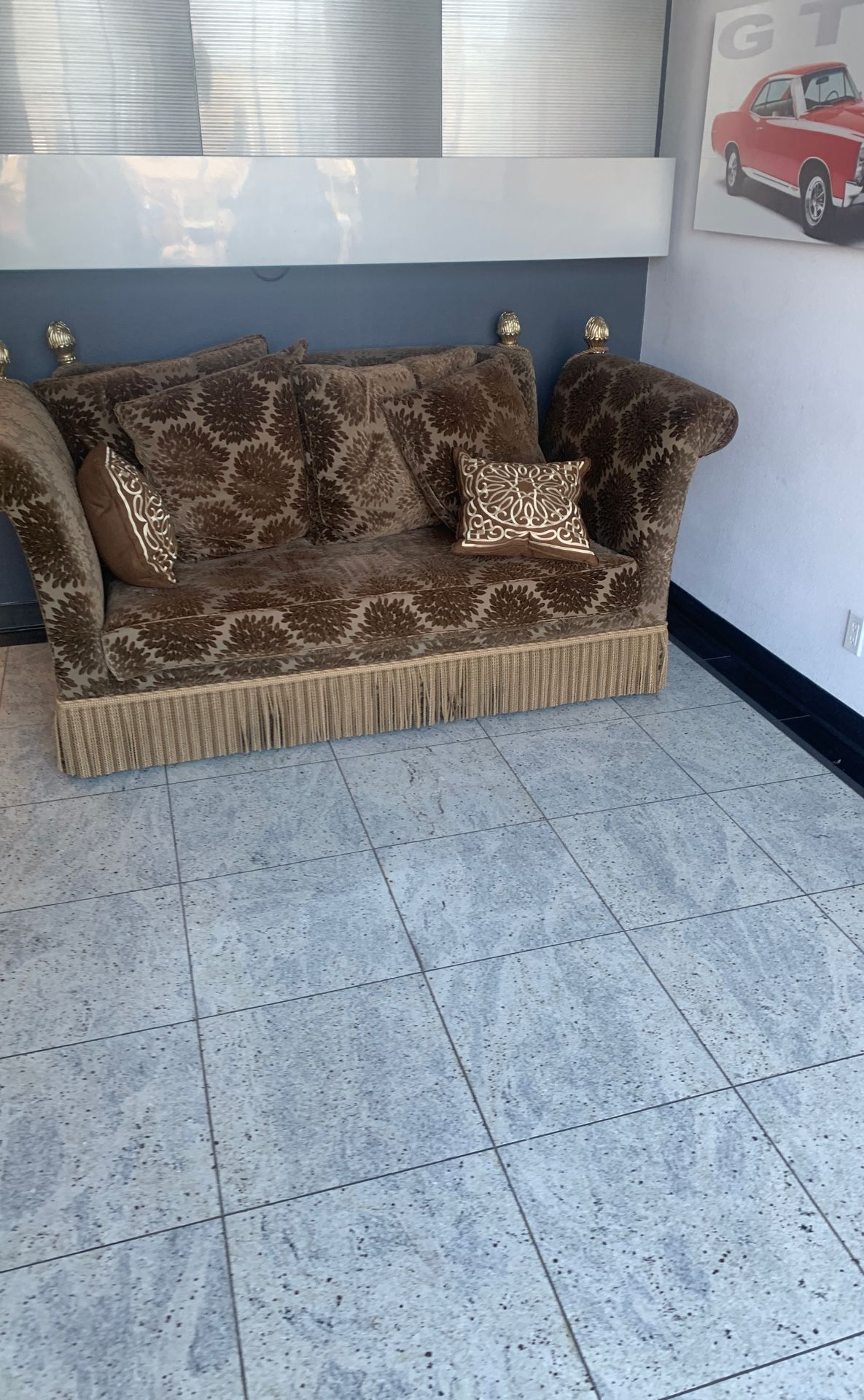 Classic couch seat