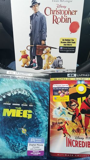 Blurays/HDBlurays/Blu Ray DVD bundles/Digital copies - $5 per / Hundreds of titles (majority new) bundle deals go fast. Negotiable if serious for Sale in Las Vegas, NV