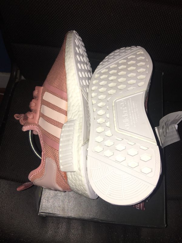 9f82bbe4f2dbe ... promo code adidas nmd salmon pink mens size 8 for sale in santa ana ca  offerup