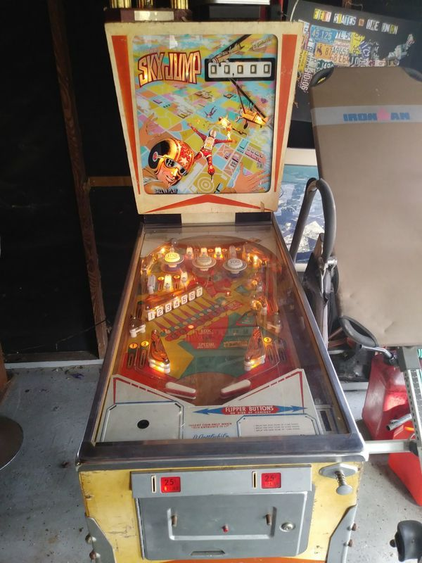 Sky Jump Pinball Machine 500 For Sale In Jacksonville Fl Offerup