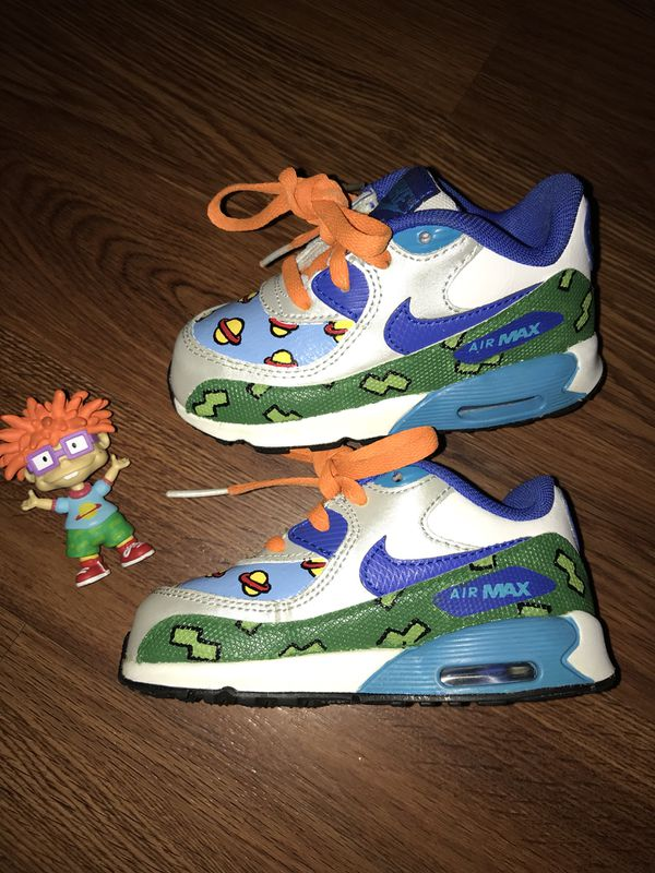 new products a52bc 3c83a Size 7c custom Nike Air max $25 for Sale in Richmond, CA - OfferUp