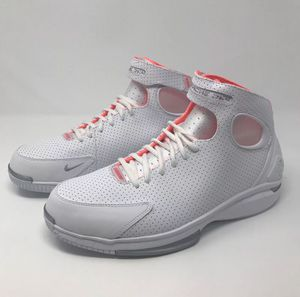 c1701a8be700 ... greece new nike air zoom huarache 2k4 kobe white hot lava red size 9.5  4d186 64dc3