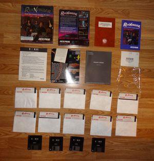 Rex Nebular and the Cosmic Gender Bender VINTAGE MicroProse IBM PC 1992 3.5 & 5.25 for Sale in Chantilly, VA