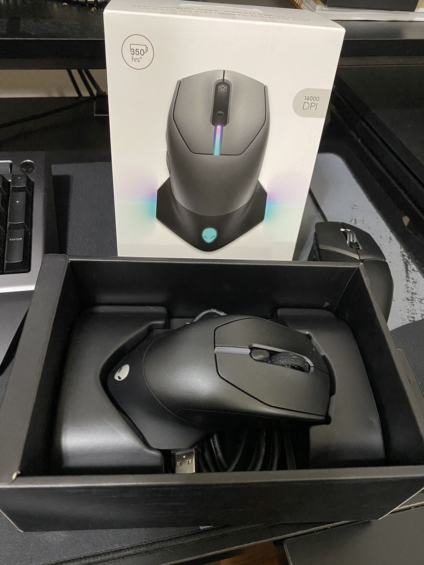 Alienware Wireless/Wired Mouse