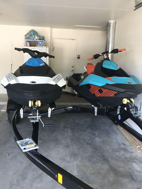 2018 see-doo jet skis