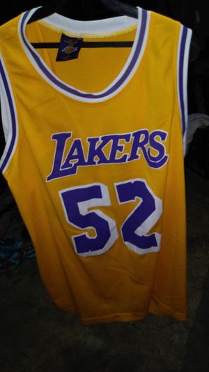 d7a064f2daac Lakers Jamal Wilkes jersey xl used for Sale in South Gate