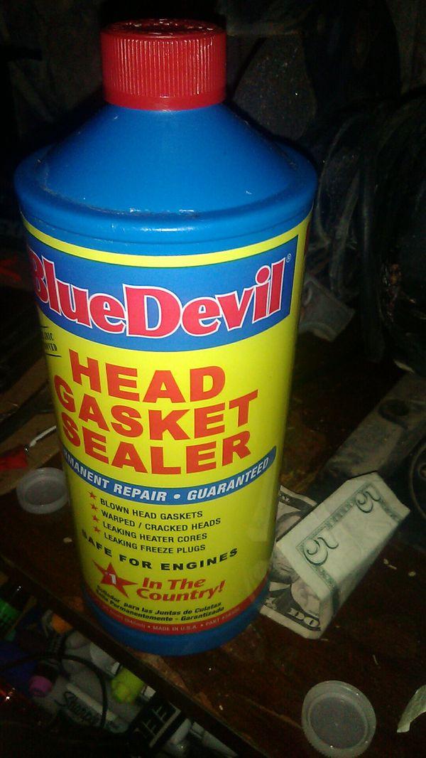 Head gasket sealer brand new Blue Devil never been opened for Sale in Las  Vegas, NV - OfferUp