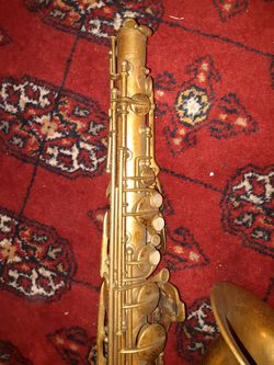 Revelle Saxophone  Missing Mouthpiece Thumbnail
