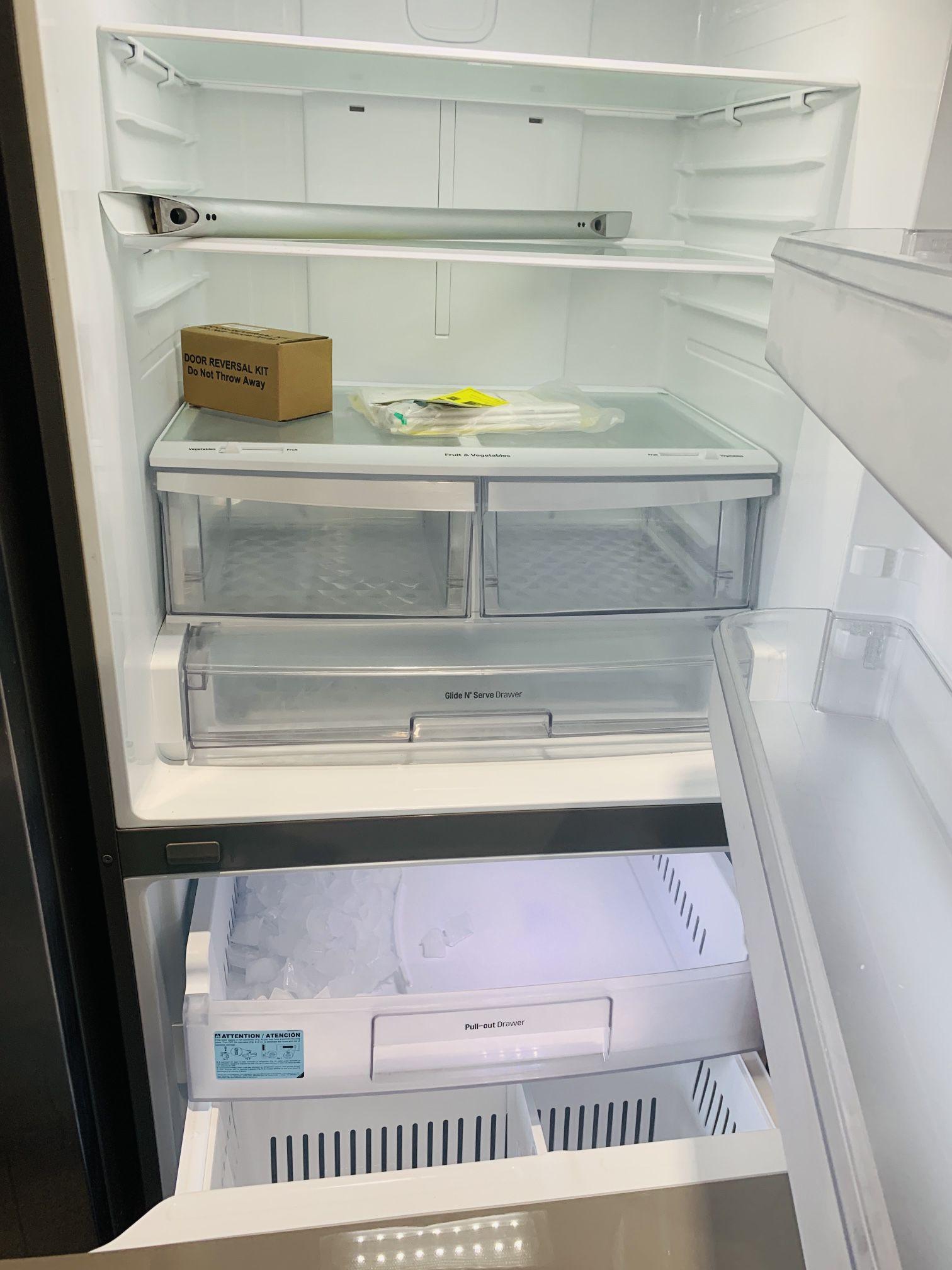Refrigerator Stainless Steel LG