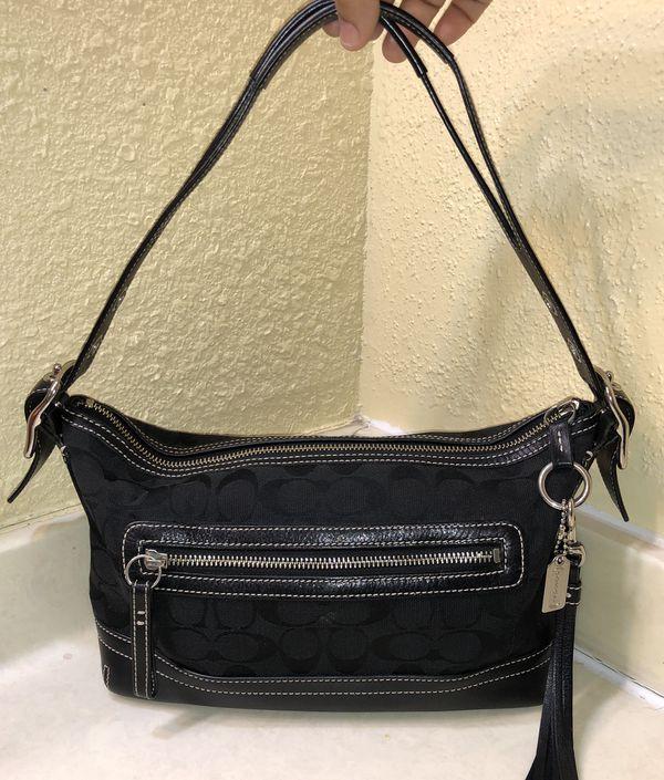 Authentic Coach Signature Purse Handbag Black In Austin Tx 32243019f8346