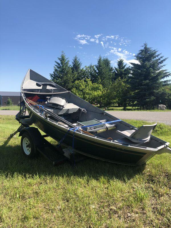 1993 16� koffler aluminum drift boat