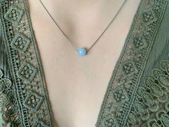 Handmade Crystal bead Necklace Thumbnail