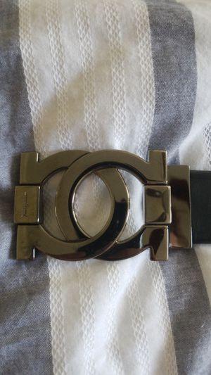 Ferragamo Reversed logo belt Mens size 32 black for Sale in Atlanta, GA