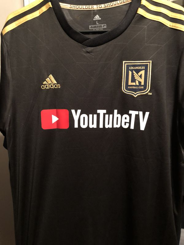 36c4278f8 2018 2019 LAFC CARLOS VELA OFFICIAL ADIDAS SOCCER JERSEY for Sale in ...