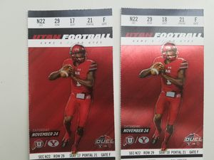 BYU vs Utah 2 tickets for Sale in Bluffdale, UT