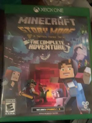 MINECRAFT FOR XBOX ONE for Sale in Nashville, TN