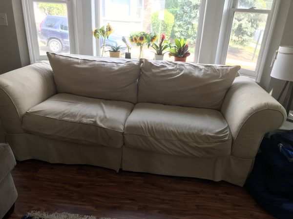 Off White Comfy Couch