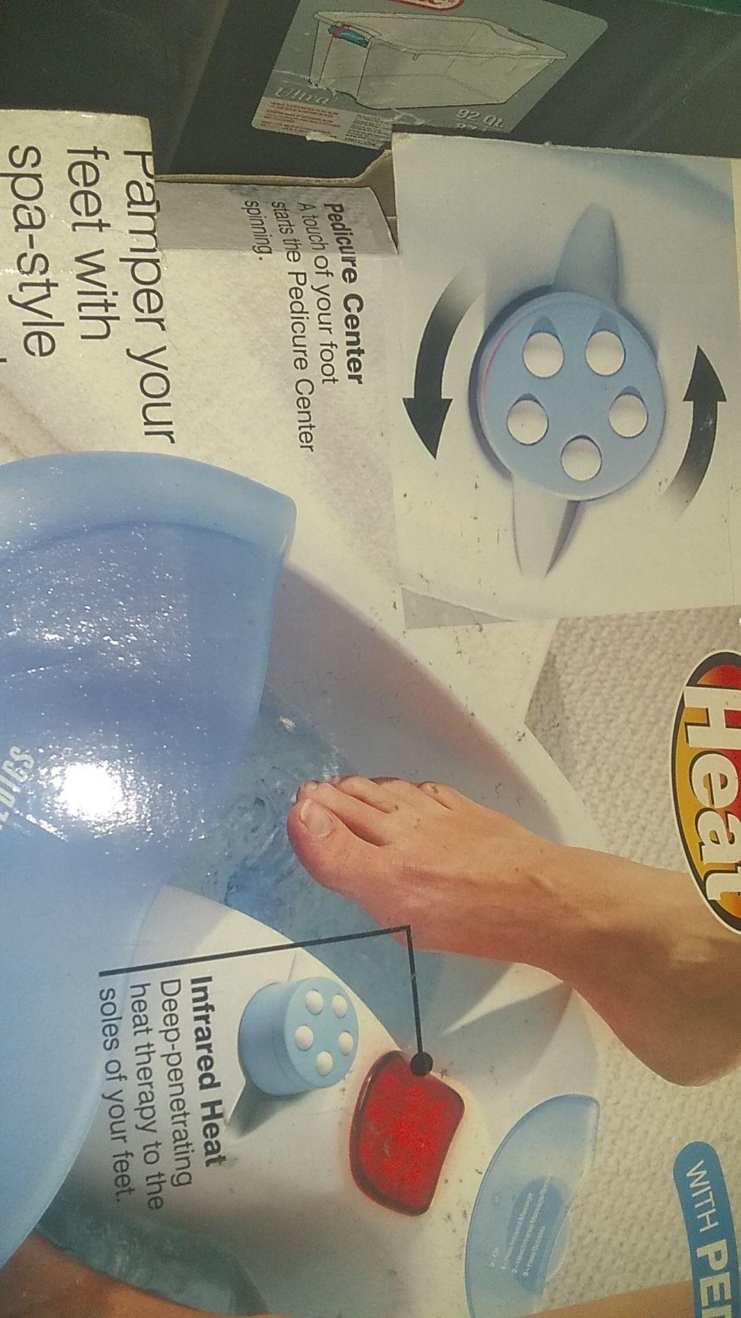 Ultra foot spa