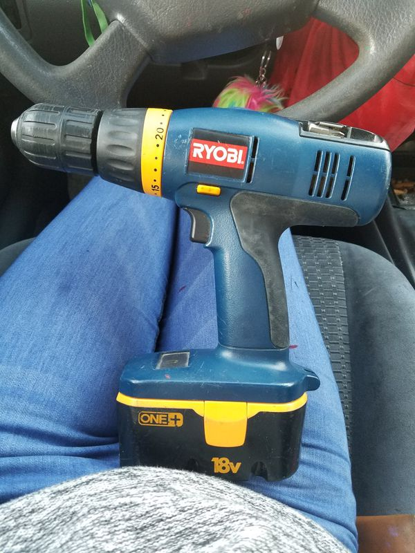 Ryobi P206 18v 2 Speed Cordless Drill + battery for Sale in Olympia, WA -  OfferUp