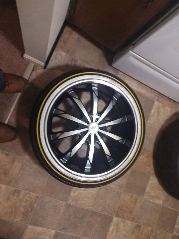 Used Auto Body Parts >> 20 inch rims and vogue tires for Sale in Crown Point, IN - OfferUp