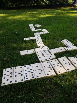 Giant Dominos and Lawn Boules Pétanque for Sale in Silver Spring, MD
