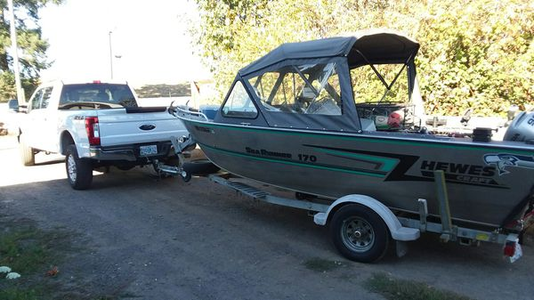 Hewes Craft aluminum boat for Sale in Sherwood, OR - OfferUp
