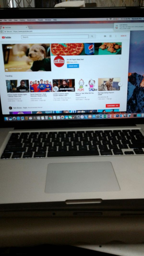 2011 MacBook Pro Intel I5/4Gb/320Gb/13